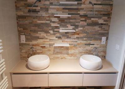 Meuble salle de bain vasque à poser
